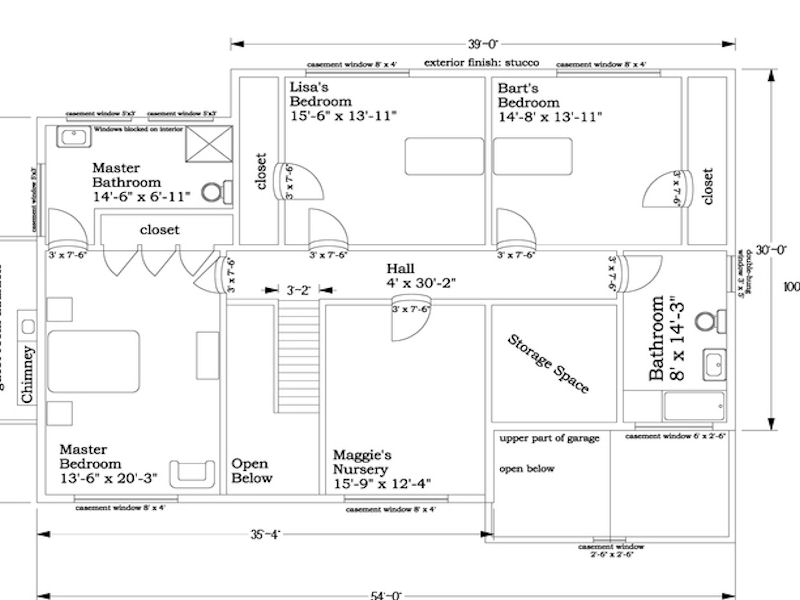 The Simpsons House Plan House Plans