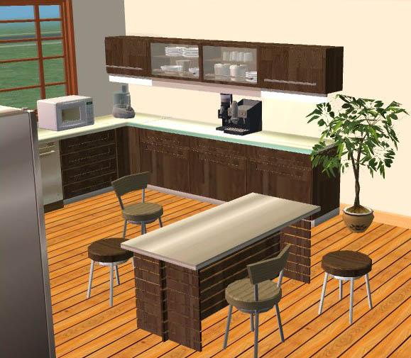 Darkwood Modernline Kitchen Set