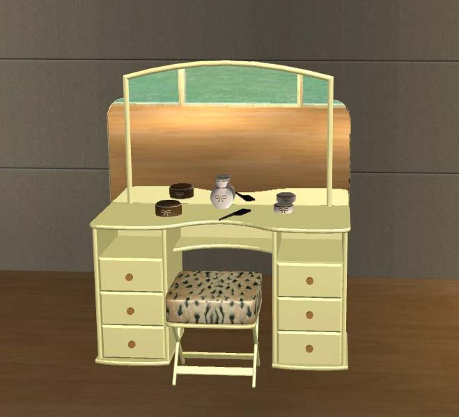 Mod The Sims Vanity Table Recolors