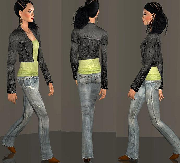 Výsledek obrázku pro the sims 2 jacket