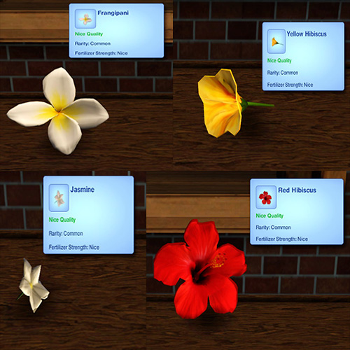 mod the sims harvestable flowers