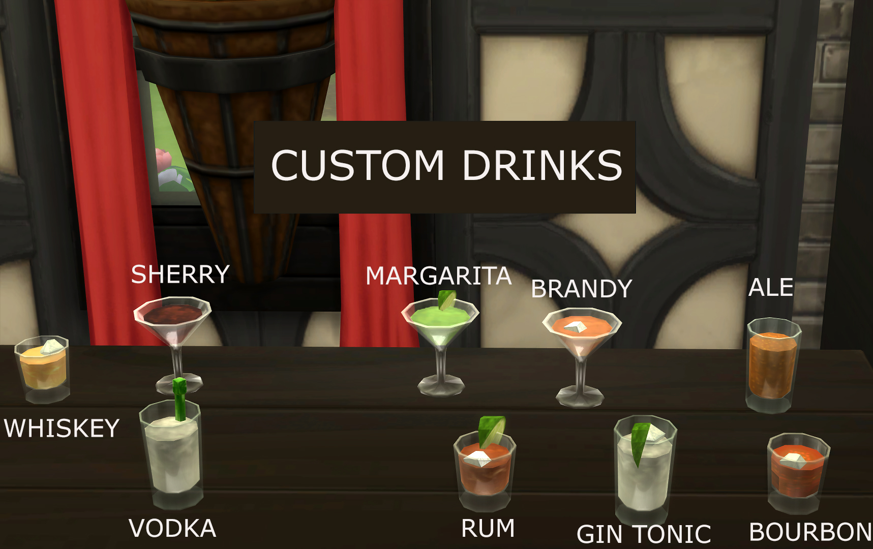 Sims  Food And Drink Mod