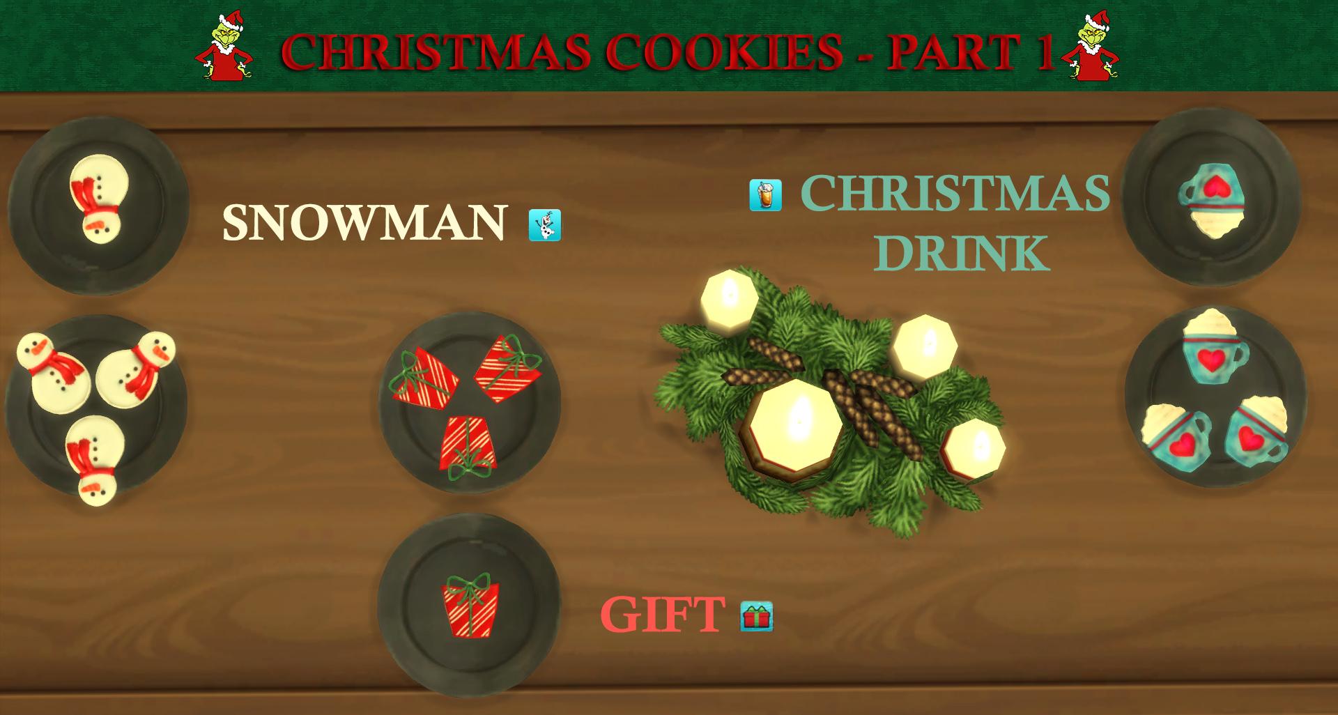 Mod The Sims Custom Christmas Cookies Part 1