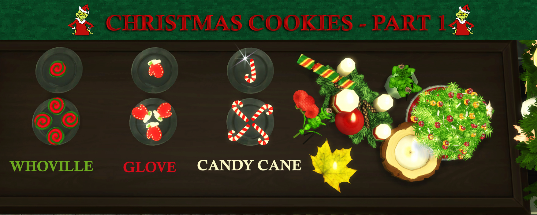 Mod The Sims Custom Christmas Cookies Part 2