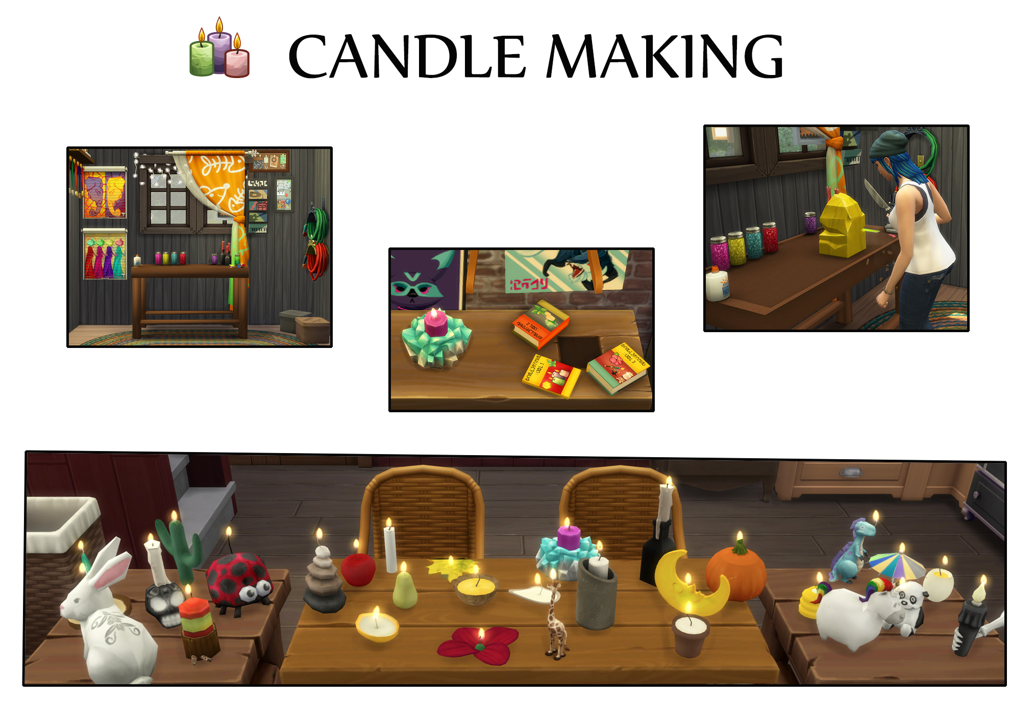 Mod The Sims - Candle Making (Update 17th April 2019)