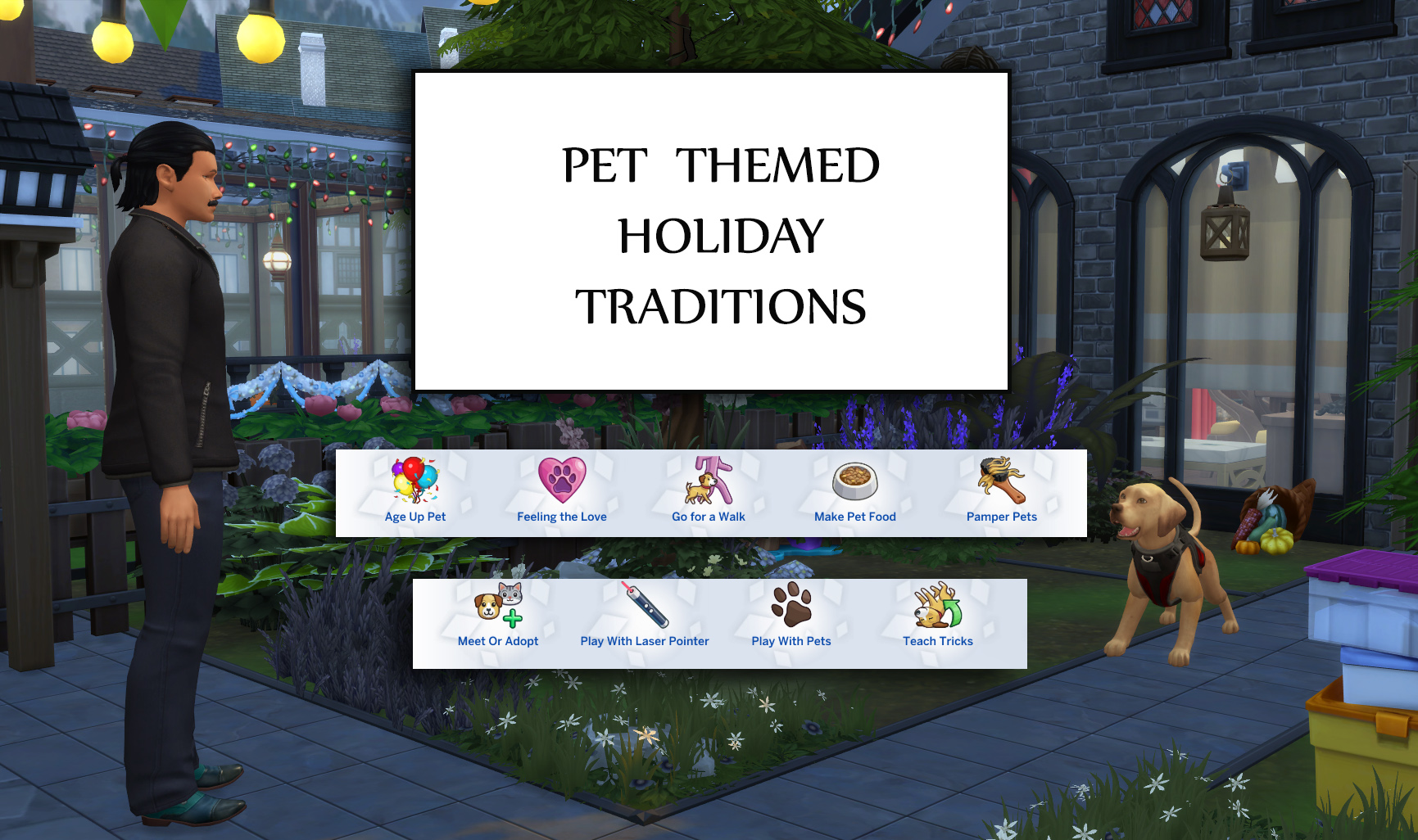 Mod The Sims - Pet Themed Holiday Traditions (Update 17th April 2019)