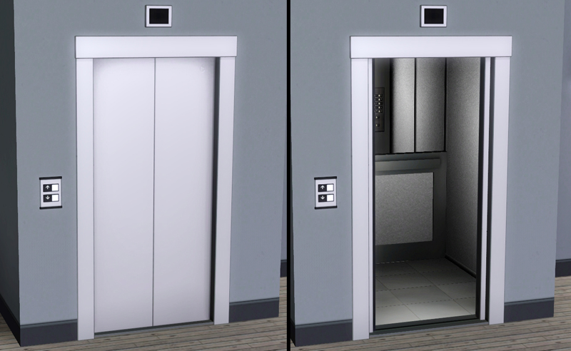 Mod The Sims - *TESTING* Modern Elevators