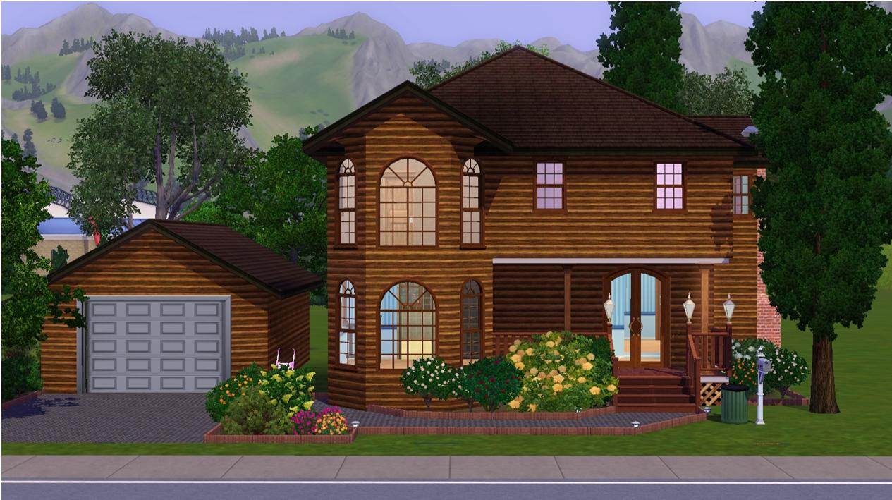 Mod The Sims 142 Mooncrest Street Middle Class Family