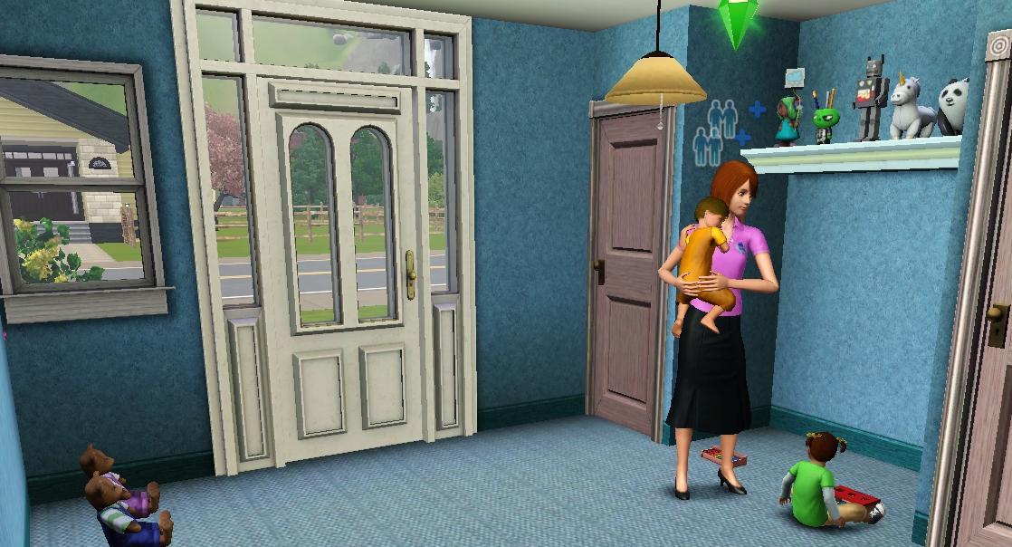 mod the sims kiddie korner a daycare house. Black Bedroom Furniture Sets. Home Design Ideas