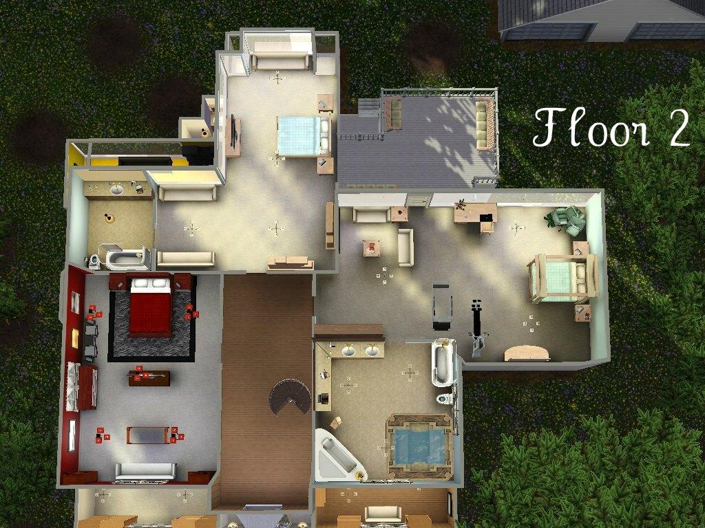 x & Mod The Sims - The Cullen House