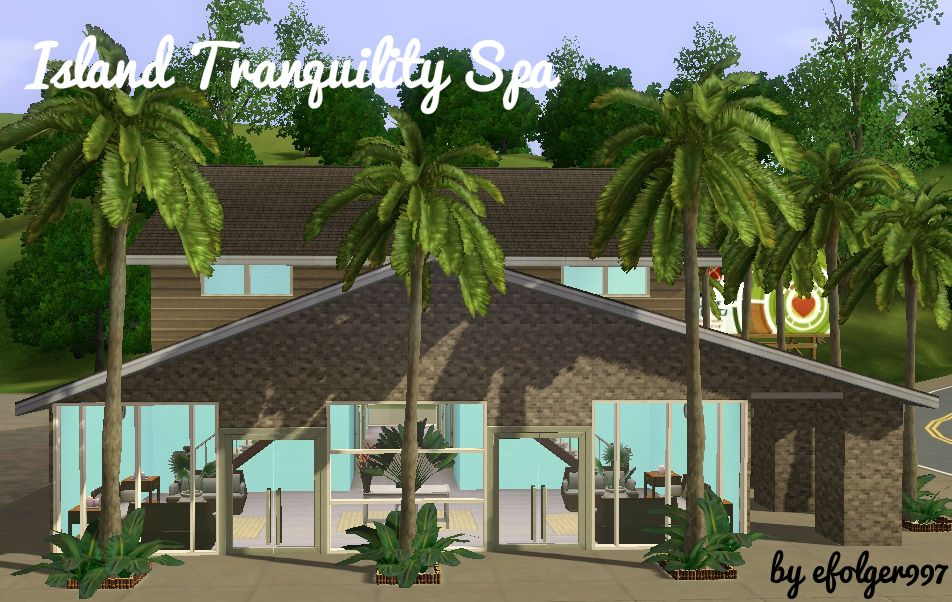 Mod The Sims - Island Tranquility Spa