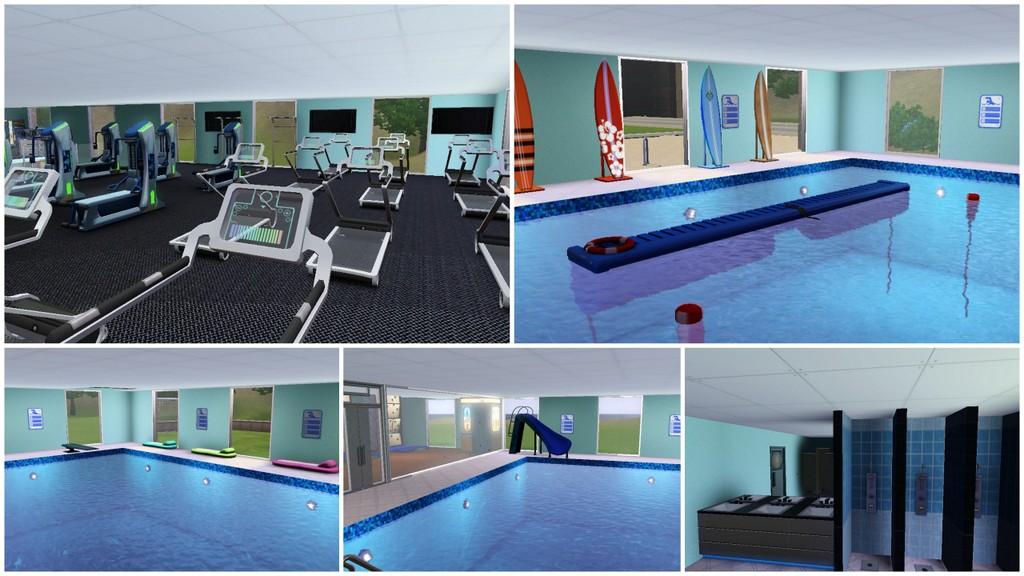 Mod the sims sportsplex sports center gym