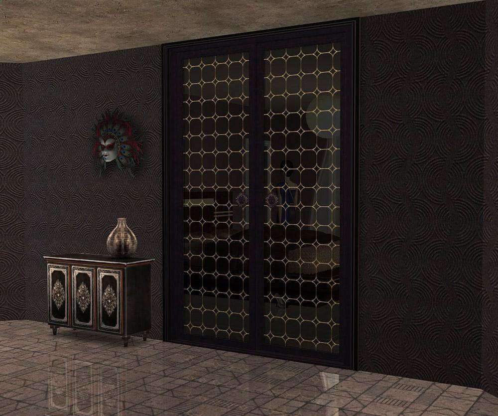 """Project """"Maiden's Bedroom """" . Part 9. Doors"""