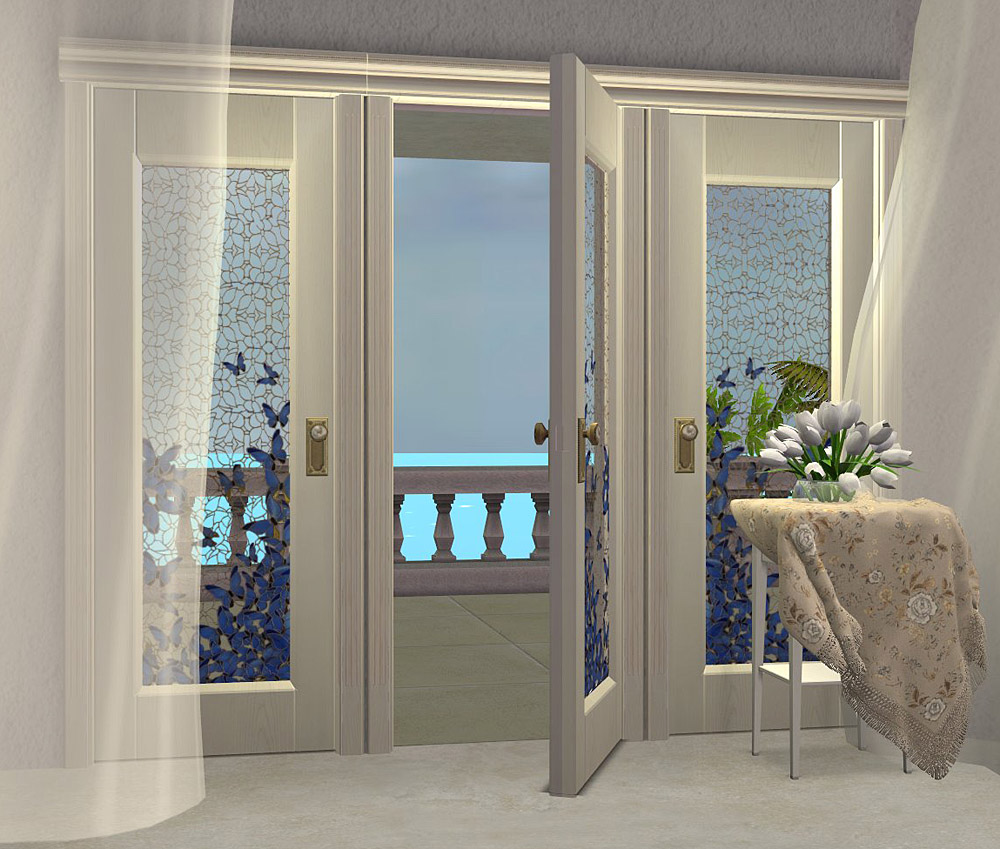 Mod The Sims Project Maidens Bedroom Part 9 Doors Set