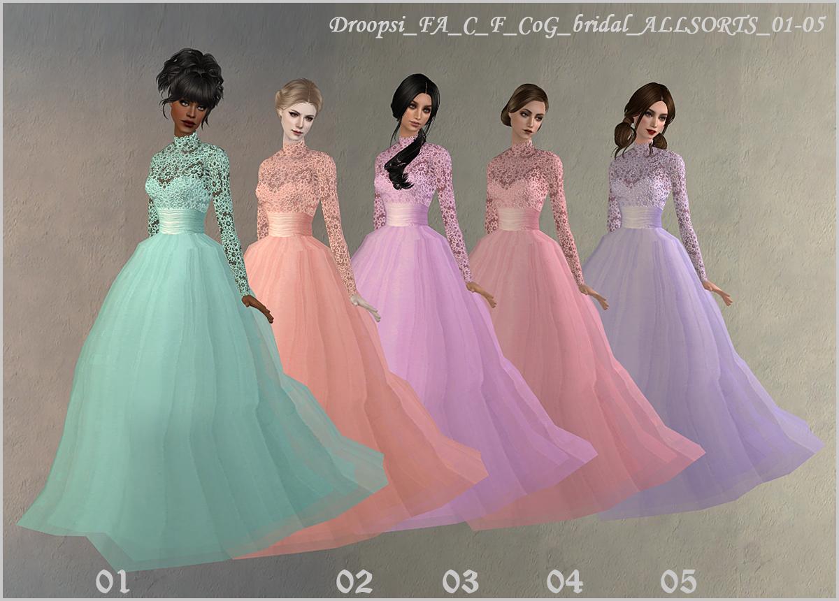 Sims 4 Wedding Dress Shop