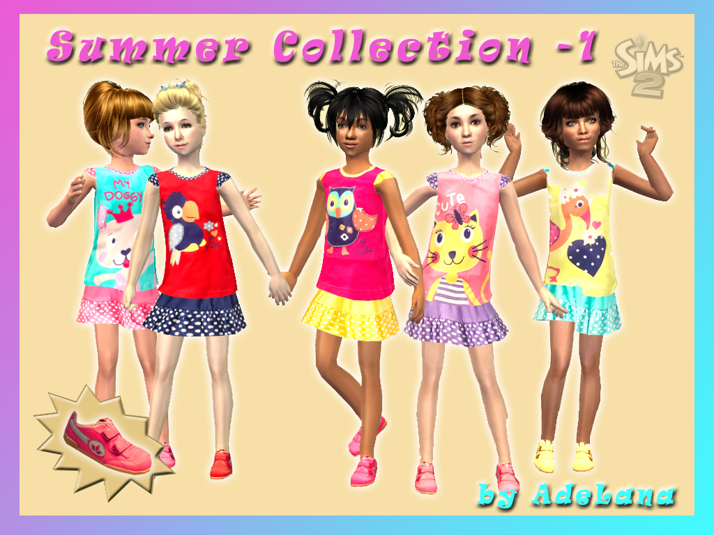 b3c7239b0 Mod The Sims - Summer Collection - 1 (Children s clothing)