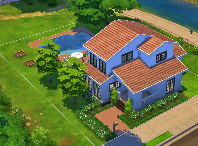 Mod the sims simple 5 for Minimalist house sims 2