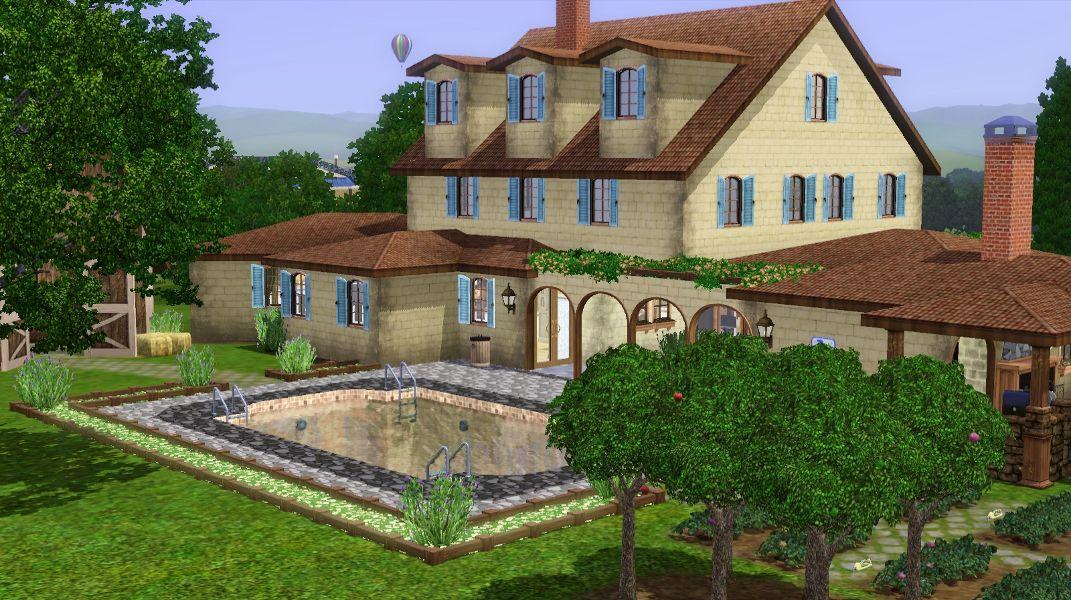 Mod The Sims - La Maison du Frêne - NO CC!