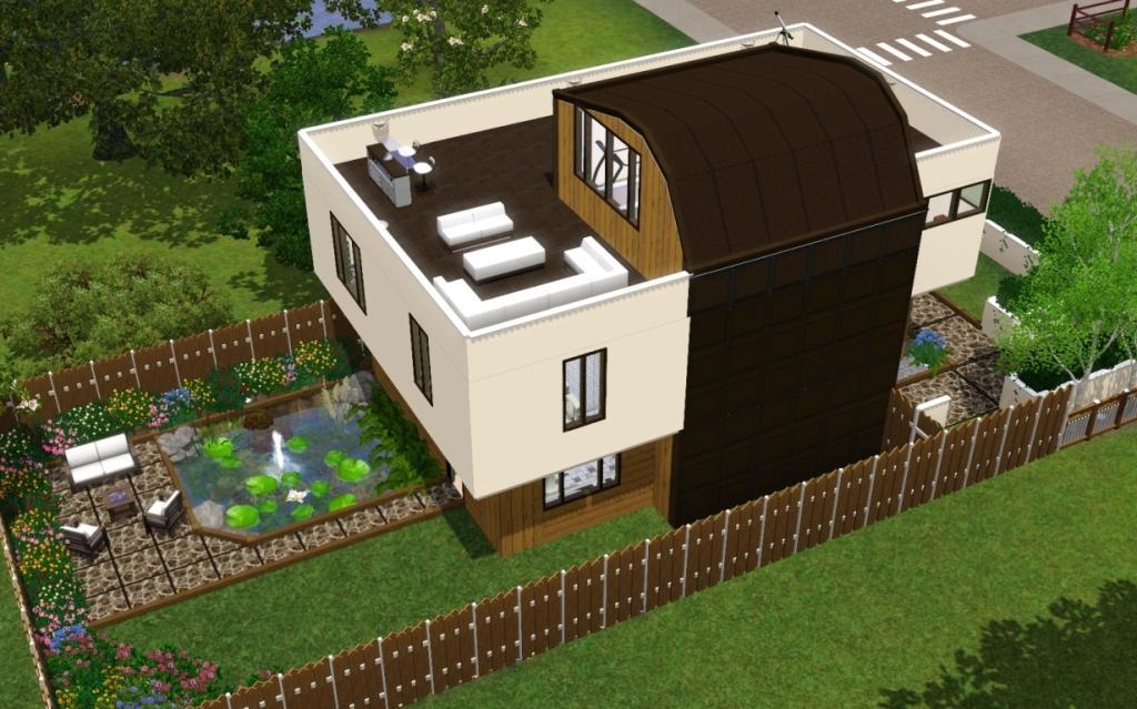 Shield House mod the sims - shield house