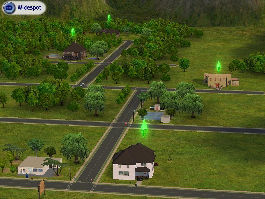 Widespot: An Inhabited Base Game Neighborhood