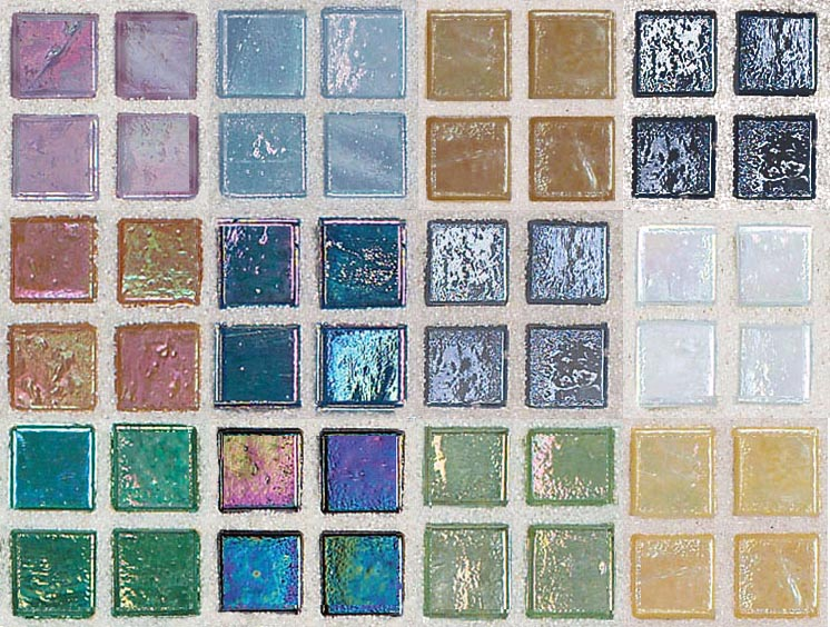 by request smaller glass tile collection set of 12 better then the