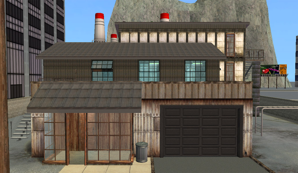 Mod The Sims Industrial Factory Quot Apartments Quot