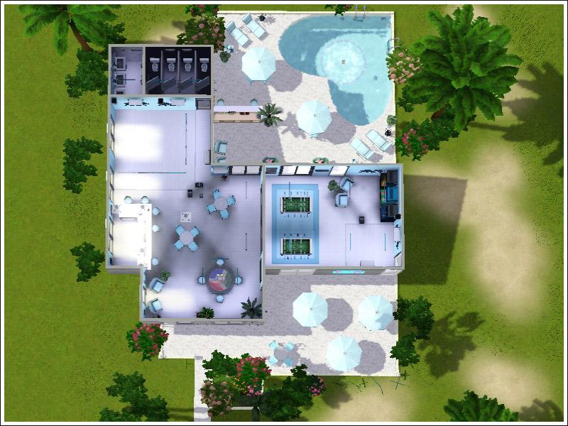 Mod The Sims Club La Palma Club With Pool