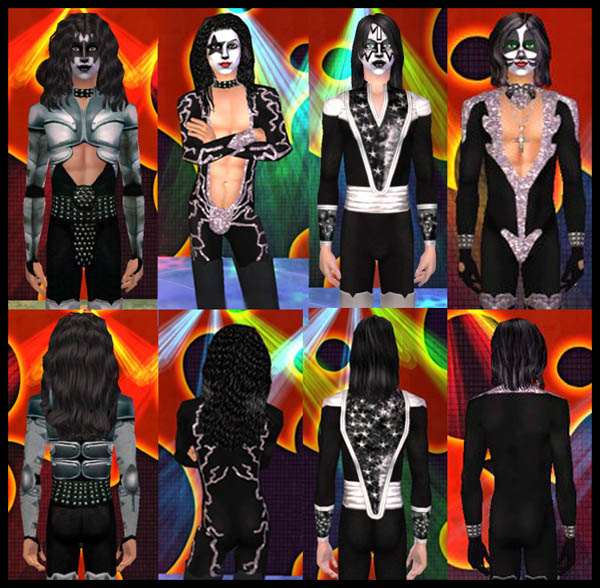 kiss rock band game