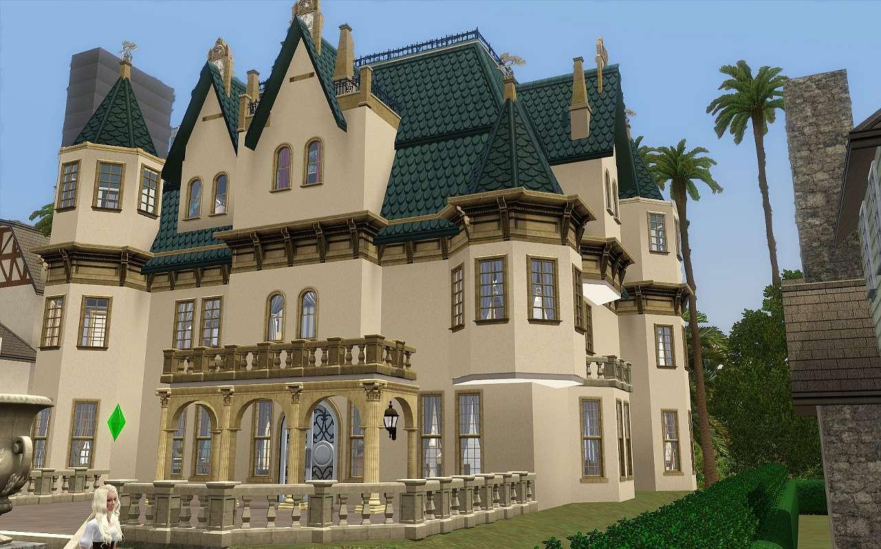 Mod The Sims Chateau Des Anges
