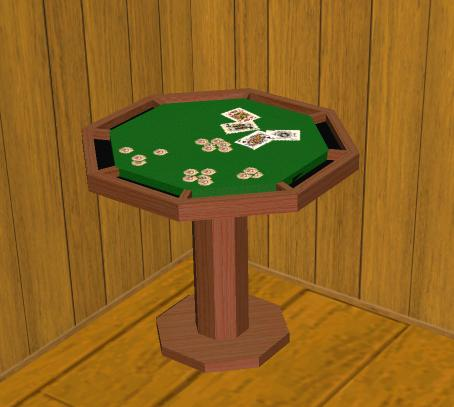 mod the sims octagonal poker table by acehole
