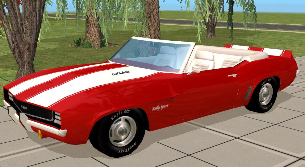 mod the sims 1969 chevy camaro rs convertable. Black Bedroom Furniture Sets. Home Design Ideas