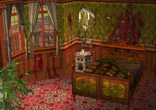 Mod The Sims Moldova Quot Hel Quot House Ready To Haunt Ancient