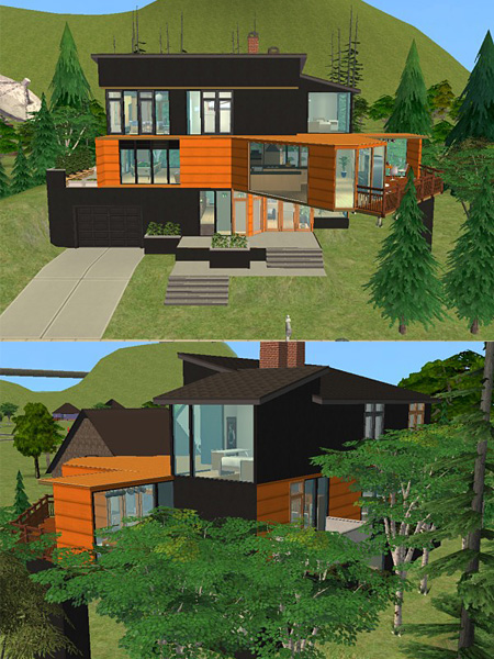 Cullens House From Twilight mod the sims - twilight: cullen house