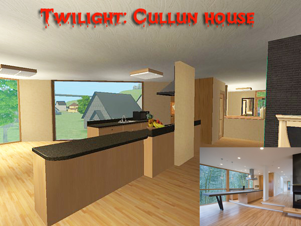 Mod The Sims - Twilight: cullen house