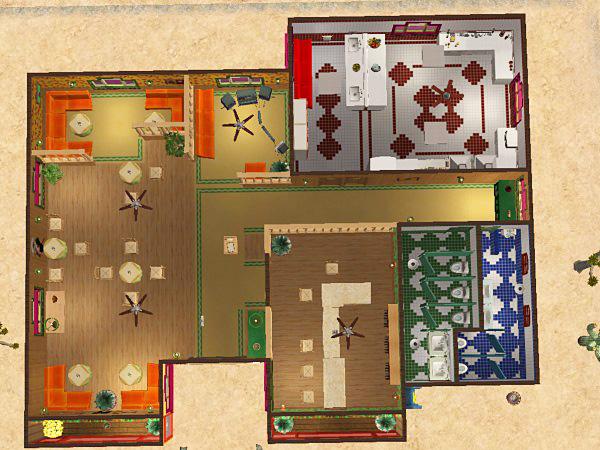 Mod The Sims Caramba Cantina Mexican Restaurant
