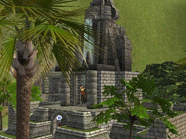 Mod The Sims - Pititawa king's Temple: NO CC