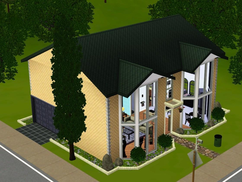 Постройки домов в симс 3 схемы фото