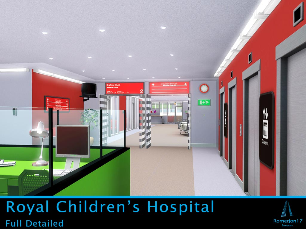 Mod The Sims Royal Children S Hospital Updated 9th