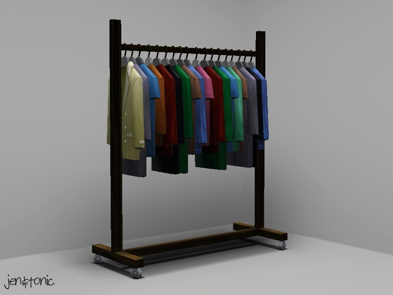 Mod The Sims Functional Clothes Rack