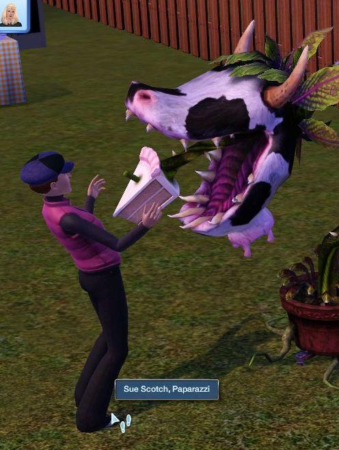 Mod the sims cowplant tweaks.
