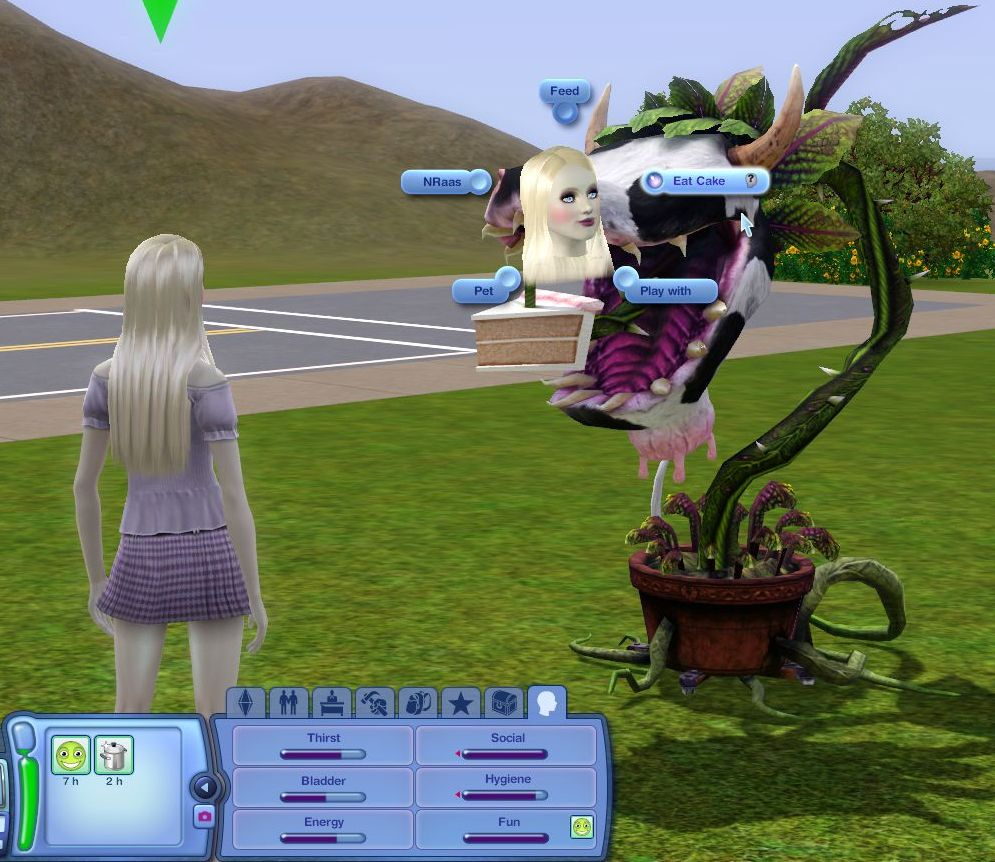 Sims  Can I Buy A Cake