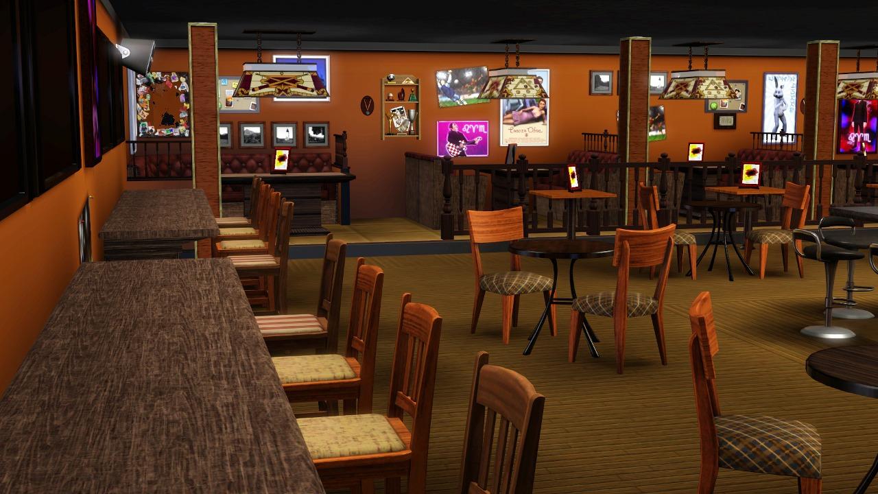 Mod The Sims A Sports Bar And Grill
