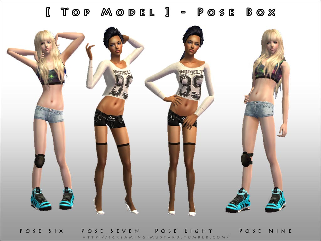 Mod The Sims Request Top Model Pose Box