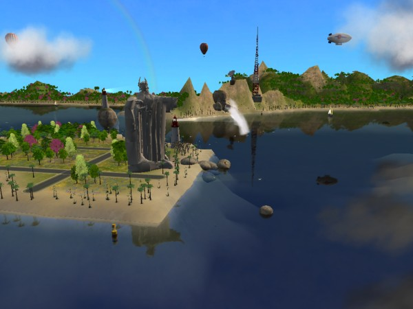 games deep 5 sims