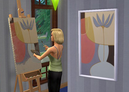Mod The Sims - Frames for custom paintings - Updated 25/10