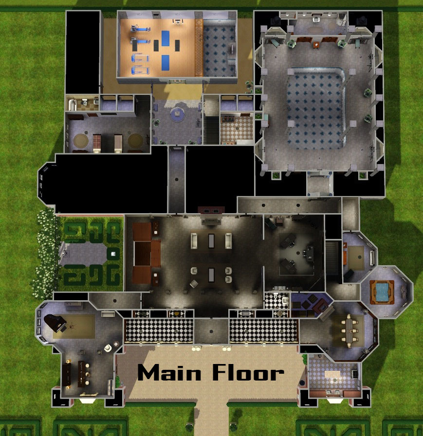 Mod The Sims - Croft Manor