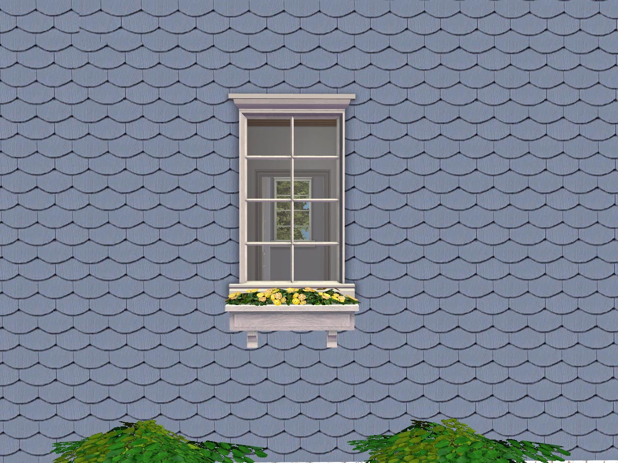 Mod The Sims Fish Scale Fancy Butt Siding 40 Colors