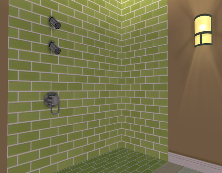 Mod The Sims Frosted Glass Subway Tiles 44 Colors