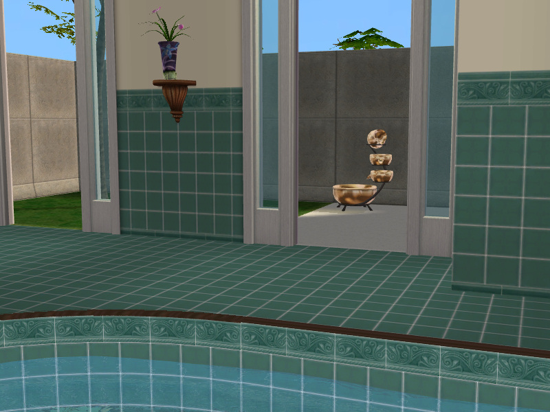 Mod The Sims Quot Claypads Quot Ceramic Tile Walls Amp Floors