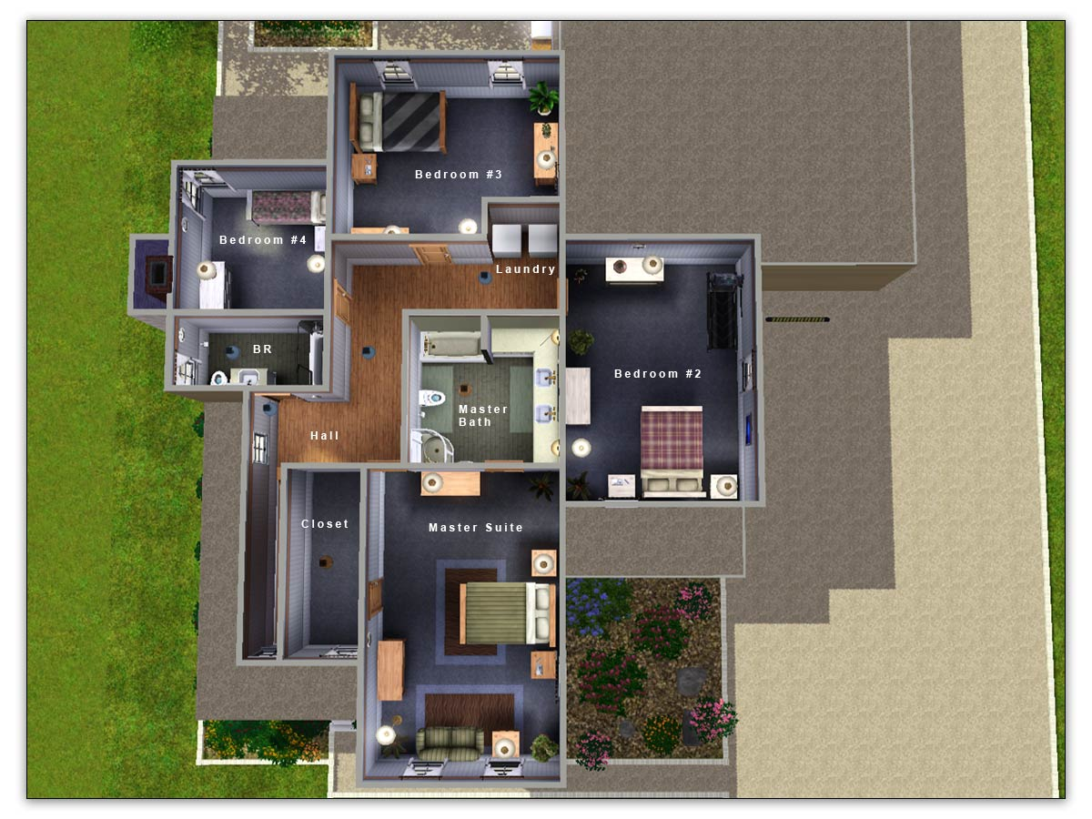 Floor Elevation Sims 4 : Mod the sims artisim cape cod charleston style